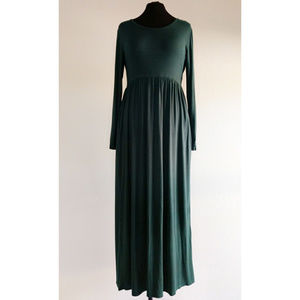 Forest Green Maxi